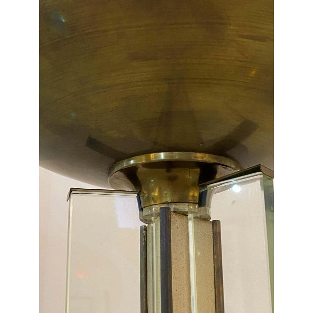 1920s Art Deco Floor Lamp by Jules Leleu 1920s-1930s For Sale - Image 5 of 12