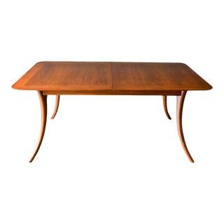 t.h. Robsjohn-Gibbings Klismos Dining Table, Model 4301, Ca. 1955 For Sale