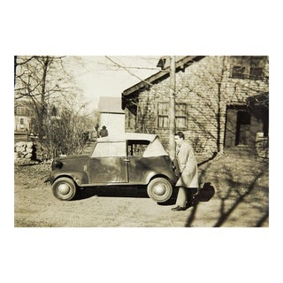 Crosley Convertible 1930s Photo Strongman Lifting Car For Sale