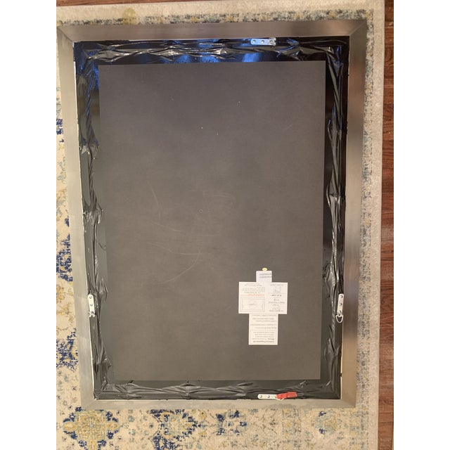 Restoration Hardware Venetian Beaded Mirror For Sale - Image 9 of 11