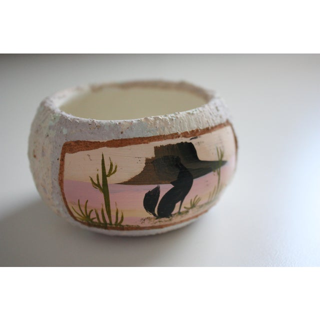 Painted Native American Pot - Image 3 of 8