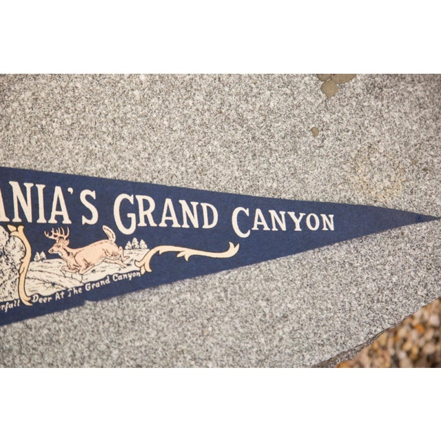 Country Pennsylvania's Grand Canyon Felt Flag For Sale - Image 3 of 3