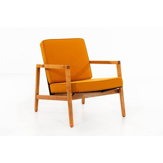 Mid-Century Modern Lewis Butler Pair of Arm Chairs For Sale - Image 3 of 10