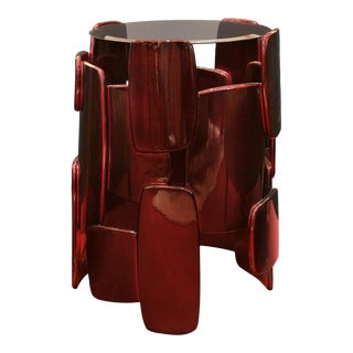 Covet Paris Goroka Side Table For Sale