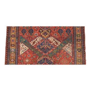 19th Century Caucasian Dragon Sumakh Carpet For Sale