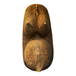 1960s Vintage Wooden Tribal Fertility Sculpture For Sale