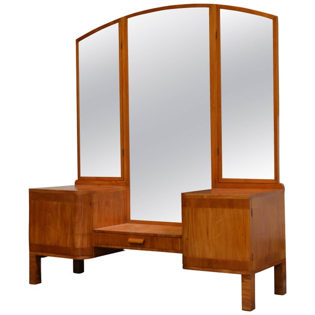 Swedish Art Deco Dressing Table Vanity For Sale - Image 11 of 11