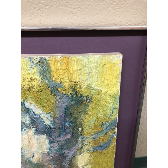 Abstract Original Abstract Textured Painting by Philip Dizick For Sale - Image 3 of 9
