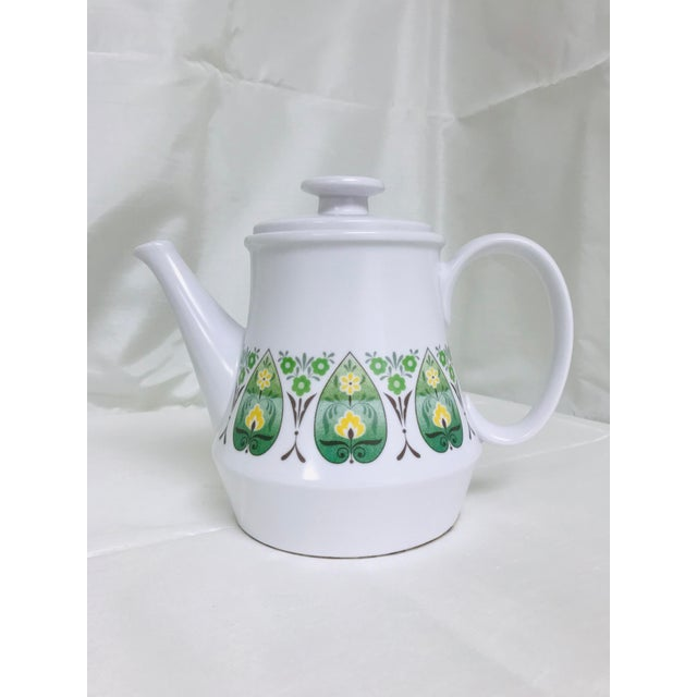 Vintage Noritake Progression Palos Verde Teapot For Sale - Image 9 of 9