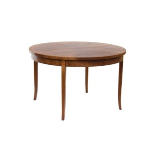 Round Dining Table by t.h. Robsjohn-Gibbings for Widdicomb, Model 4322 For Sale