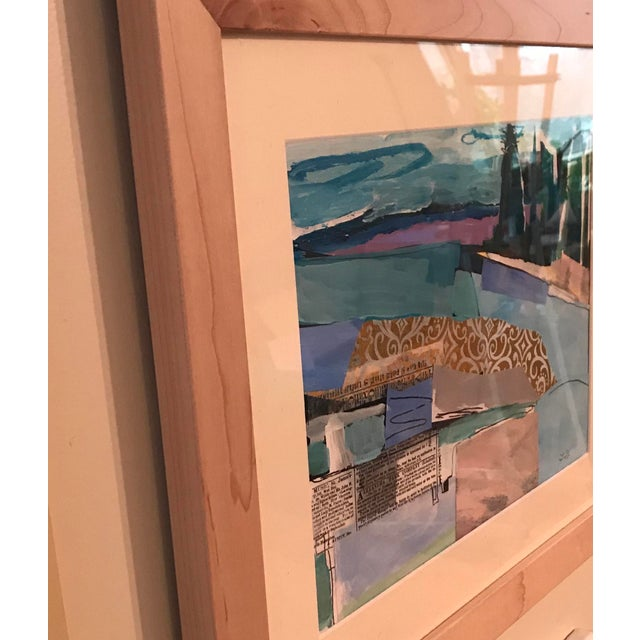 This was a fun collage made during an art week in Stonington, Maine in September. It was created from painted paper,...