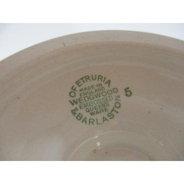 Vintage Wedgwood Queens Ware Vase For Sale - Image 6 of 7