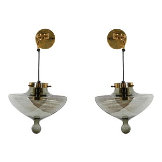 1970s Sconces by Raak - a Pair For Sale