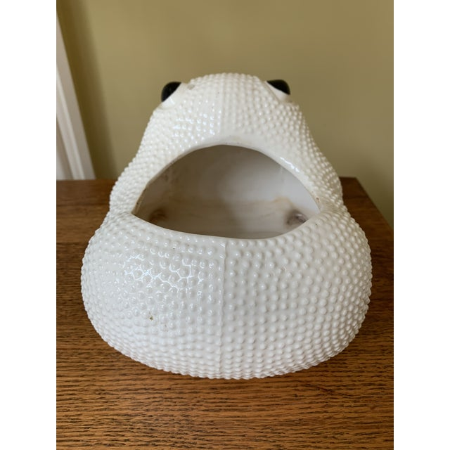 Mid 20th Century Vintage Hobnail Frog in the Manner of Jean Roger For Sale - Image 5 of 8