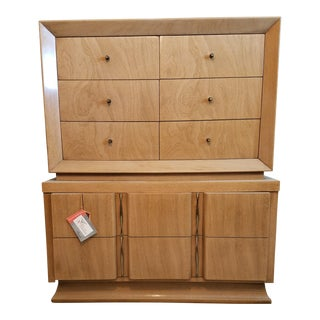 Mid Century Bedroom Chest of Drawers Set - Set of 5