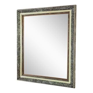 Ornate Framed Beveled Mirror