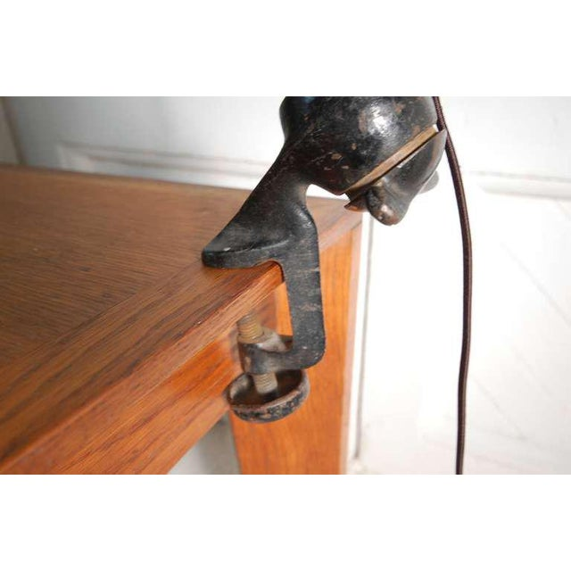 1930s G.R.A.S. Architect's Lamp From France For Sale - Image 5 of 6