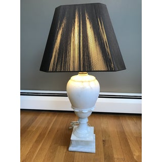 Alabaster Table Lamps - a Pair Preview