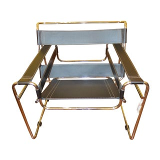 Vintage Wassily Style Chair For Sale