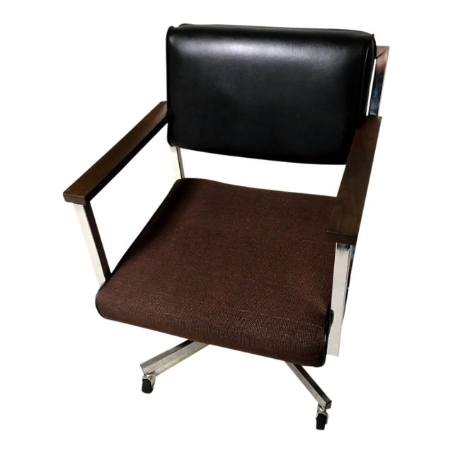 Vintage EckAdams Corp 1970's Office Chair For Sale