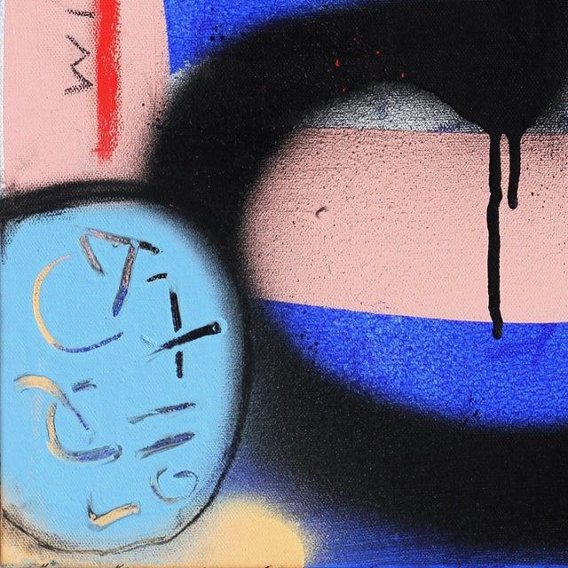 "Sarah Svetlana ""Finally Sat at the Cool Kids Table"" Original Painting For Sale - Image 4 of 9"