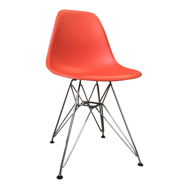 Eames Vitra Eiffel Base Red Chair - Image 1 of 5