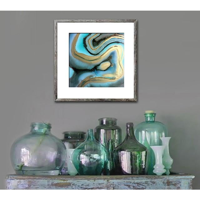 'AGATE' Original Abstract Painting by Linnea Heide - Image 3 of 6