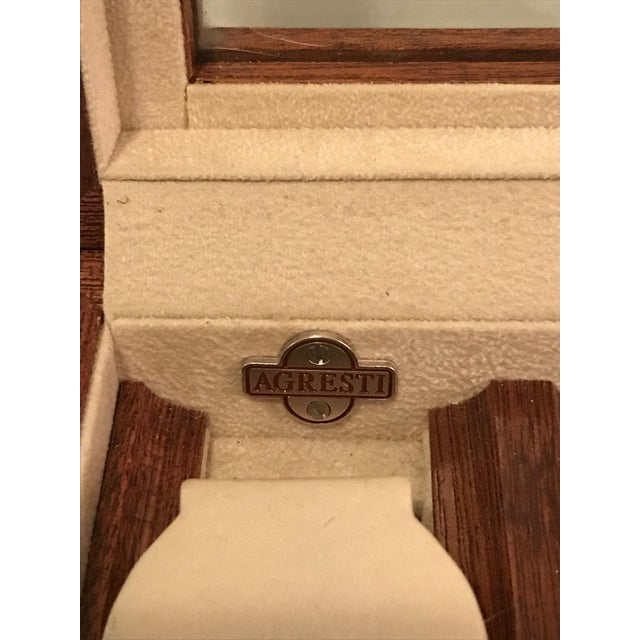 Agresti Briar Wood Watch Case For Sale In New York - Image 6 of 9