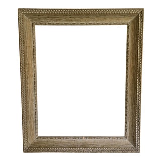 Mid-Century Ornate Wood Frame