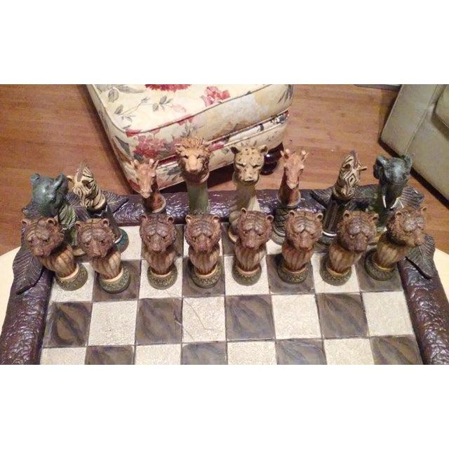 Safari Chess Set - Image 4 of 6