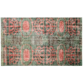 "1960s Turkish Art Deco Rug - 5'10"" X 9'10"" For Sale"