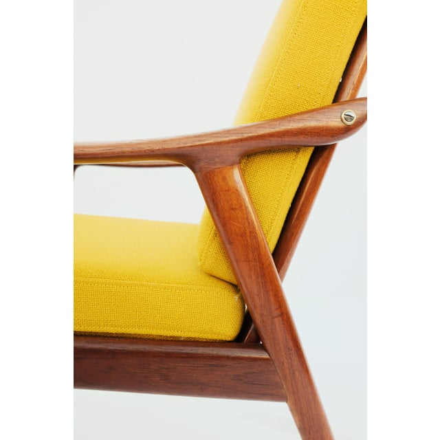Vatne Møbler 1950s Danish Modern Fredrik A. Keyser for Vantne Lenestolfabrikk Lounge Chair For Sale - Image 4 of 11