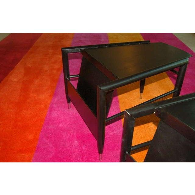 Brown John Keal for Brown Saltman Wedge Side Tables For Sale - Image 8 of 10