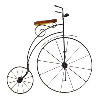 Vintage Victorian Style High Wheel Bicycle Lasting Products, Inc. Wall Art