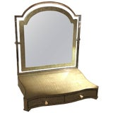 Image of Theodore Alexander Vanity or Shaving Mirror For Sale