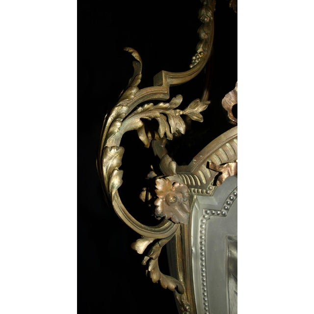 Antique Chandelier. French Lantern - Image 6 of 11