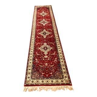 1960s Persian Wool Runner For Sale