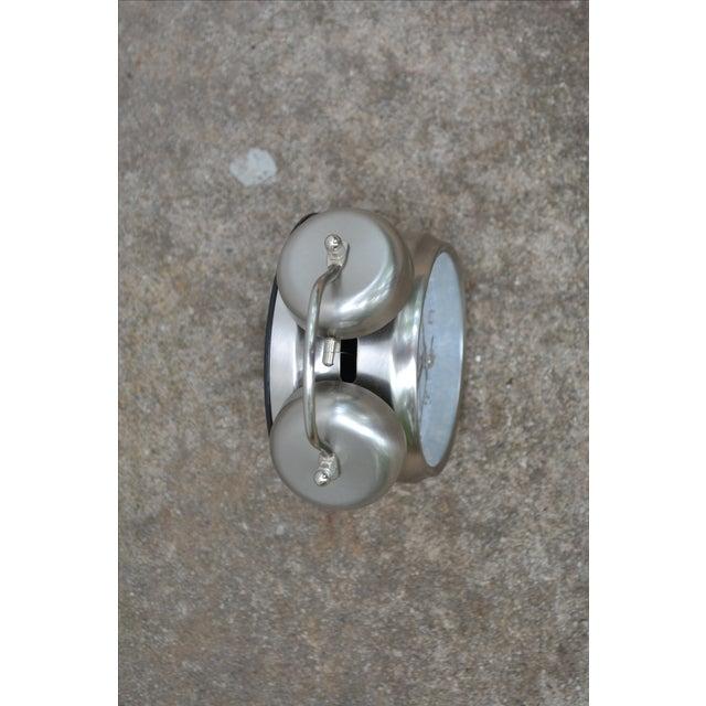 Elgin Twin Bell Alarm Clock - Image 3 of 3