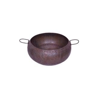 Jule Iron Decorative Pot For Sale