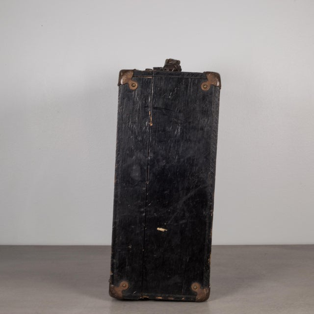 ABOUT This is an original U.S. Navy 1st class Construction Mechanic (CM) wooden tool box used to hold small precision,...