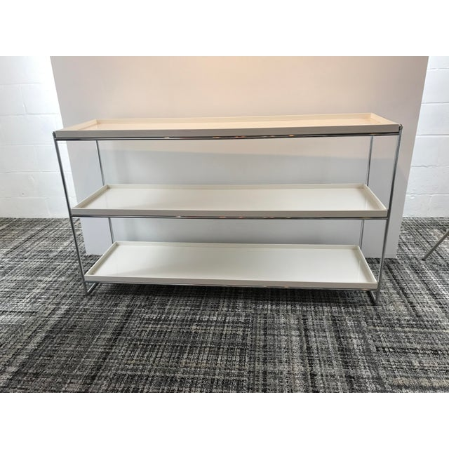 Modern Kartell Trays 3 Shelf Bookcase For Sale - Image 3 of 5