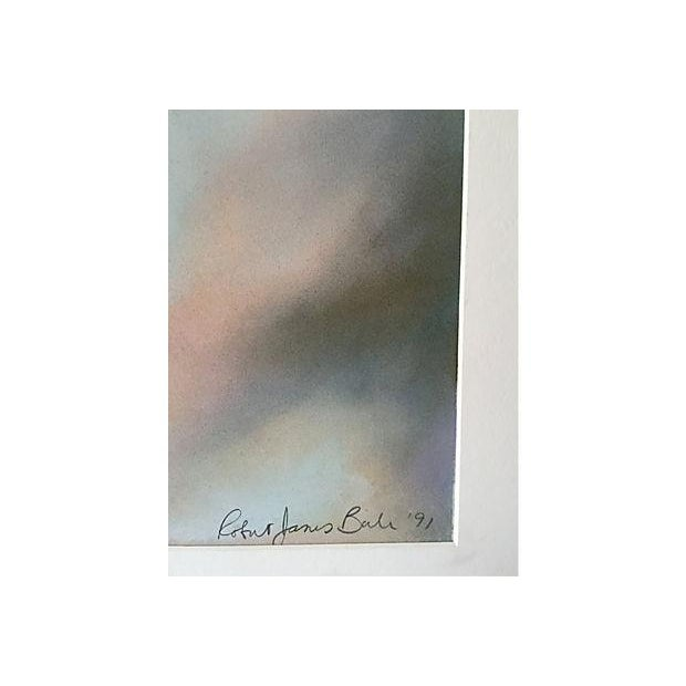 Robert Jones 'Clouds in Bali' Pastel Painting - Image 4 of 5