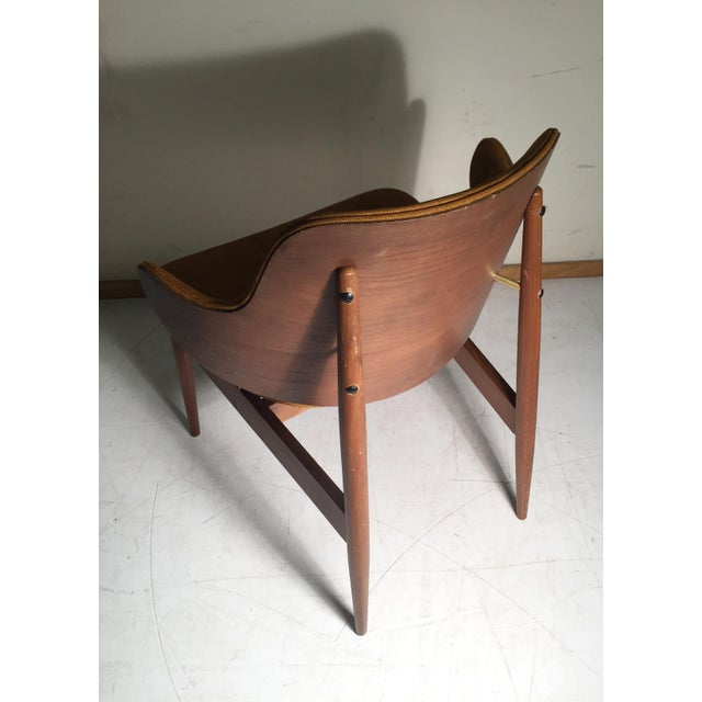 Wood Vintage Kodawood Lounge Chair by Seymour James Weiner For Sale - Image 7 of 12