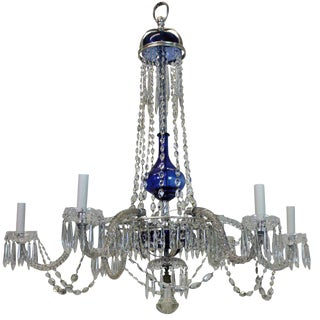 Fine Cut Glass Baltic Chandelier