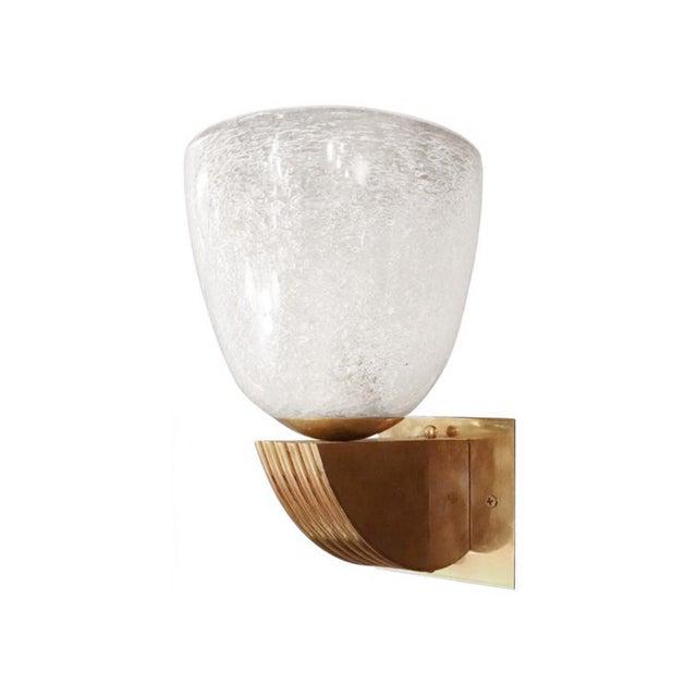 Gold Italian Art Deco Fabio Ltd Sconce For Sale - Image 8 of 8
