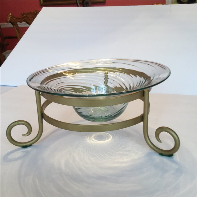 Art Glass Bowl For Sale - Image 11 of 11