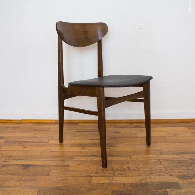 Contemporary Yugoslavia Mid-Century Dining Chair For Sale - Image 3 of 10