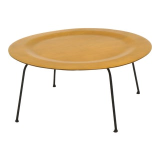 Early Second Generation Eames CTM Coffee Table Metal Legs, Expertly Restored For Sale
