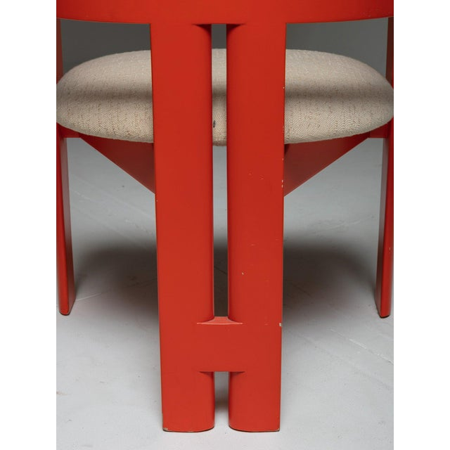 """Tobia Scarpa Set of Two """"Pigreco"""" Chairs by Tobia Scarpa for Gavina For Sale - Image 4 of 7"""