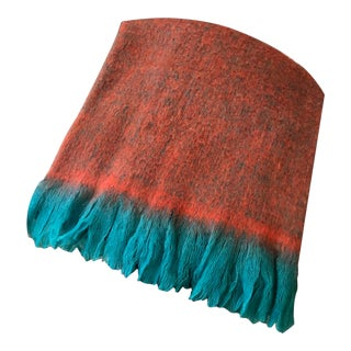 Luxury Mohair Throw Blanket For Sale